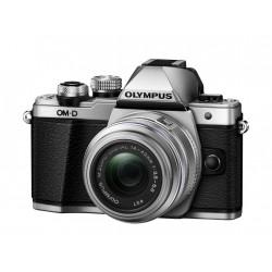 Camera Olympus E-M10 II (сребрист) OM-D + Lens Olympus MFT 14-42mm f/3.5-5.6 II R MSC + Memory card Lexar Professional SD 64GB XC 633X 95MB/S