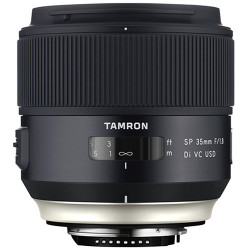 обектив Tamron SP 35mm f/1.8 DI VC USD за Canon + филтър Rodenstock Digital Pro MC UV Blocking Filter 67mm