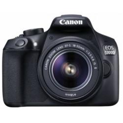 CANON EOS 1300D + 18-55MM IS KIT + 10-18MM IS STM + 50MM F/1.8 STM + SB100 BAG