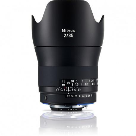 Zeiss Milvus 35mm f/2 ZF.2 за Nikon F