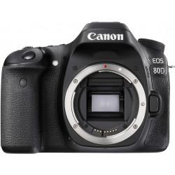 фотоапарат Canon EOS 80D + обектив Canon EF-S 55-250mm f/4-5.6 IS STM