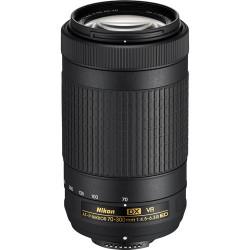 обектив Nikon AF-P DX Nikkor 70-300mm f/4.5-6.3G ED VR + чанта Nikon DSLR BAG + карта Lexar Professional SD 64GB XC 633X 95MB/S + аксесоар Zeiss Lens Cleaning Kit Premium