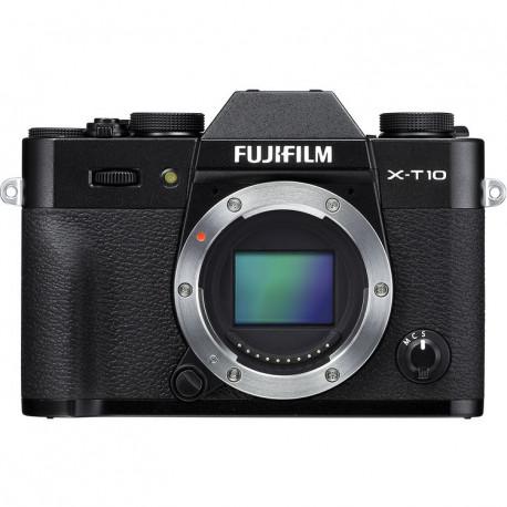 фотоапарат Fujifilm X-T10 (черен) + обектив Fujifilm XF 23mm f/2 R WR