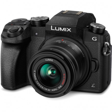 Camera Panasonic Lumix G7 + Lens Panasonic 14-42mm f/3.5-5.6 II MEGA OIS