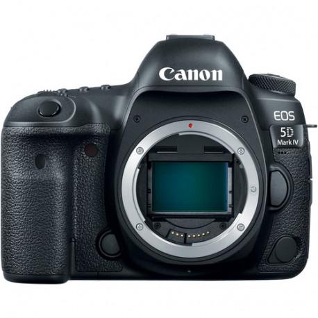 фотоапарат Canon EOS 5D Mark IV + обектив Canon EF 24-105mm STM + раница Canon SL100 Sling (черен)