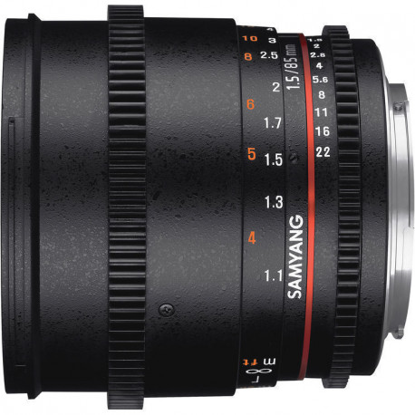 Samyang 85mm T/1.5 VDSLR mark II- Canon EF