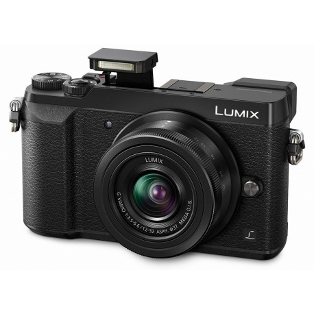 Panasonic Lumix GX80 + обектив Panasonic 12-32mm f/3.5-5.6 + обектив Panasonic Lumix G 35-100mm f/4-5.6 Mega OIS