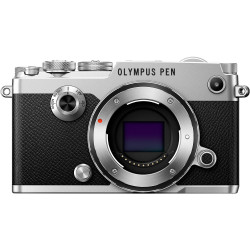 Camera Olympus PEN-F (silver) + Lens Olympus M.ZUIKO DIGITAL 17mm f / 1.8 MSC (Black)