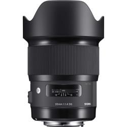обектив Sigma 20 mm f/1.4 DG HSM Art - Canon EF