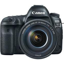 фотоапарат Canon EOS 5D Mark IV + обектив Canon EF 24-105mm f/4L IS USM II + карта Lexar Professional CF 32GB 1066X 160mb/s + карта Lexar Professional SDXC 128GB R:100/W:90MB/s