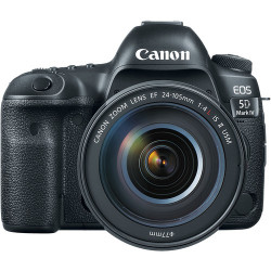 DSLR camera Canon EOS 5D MARK IV + Lens Canon EF 24-105mm f / 4L IS USM II + Memory card Lexar Professional CF 32GB 1066X 160mb / s + Memory card Lexar Professional SDXC 128GB R: 100 / W: 90MB / s
