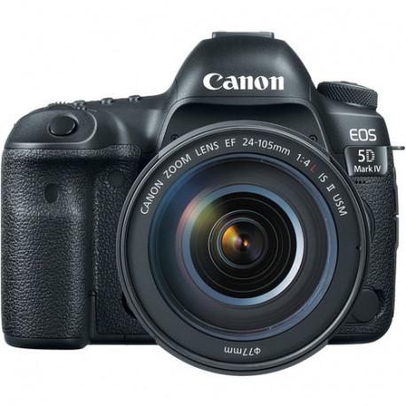 Canon EOS 5D Mark IV + обектив Canon EF 24-105mm f/4L IS USM II + карта Lexar Professional CF 32GB 1066X 160mb/s + карта Lexar Professional SDXC 128GB R:100/W:90MB/s