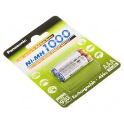 Battery Panasonic AAA BK-4HGAE 2BE rechargeable battery