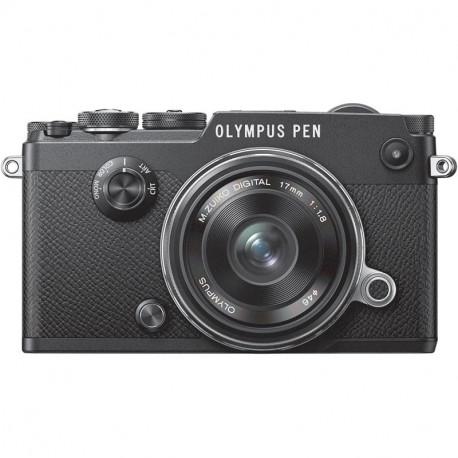 фотоапарат Olympus PEN-F + обектив Olympus MFT 17mm f/1.8 MSC