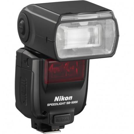 Flash Nikon SB-5000 + Charger Panasonic Eneloop Pro Smart & Quick Charger + 4 pcs. AA Battery (2500 mAh)