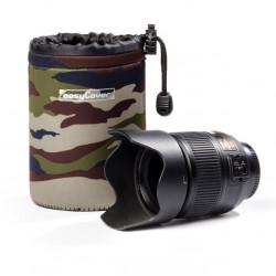калъф EasyCover Neoprene Lens Case Camouflage M