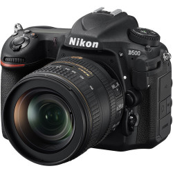 DSLR camera Nikon D500 + Lens Nikon AF-S 16-80mm f / 2.8-4E ED DX VR + Memory card Lexar Professional SD 64GB XC 633X 95MB / S + Backpack Vanguard