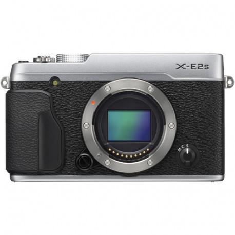 фотоапарат Fujifilm X-E2s (сребрист) + обектив Fujifilm Fujinon XF 35mm f/2 R WR (сребрист)