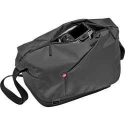 чанта Manfrotto NX Messenger (сив)