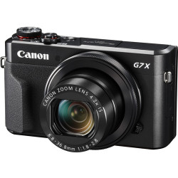 Camera Canon PowerShot G7 X Mark II + Memory card Lexar 32GB Professional UHS-I SDHC Memory Card (U3)