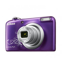 NIKON COOLPIX A10 PURPLE LINEART+SDHC 4GB+GP CHARGER+2AAX2000MAH