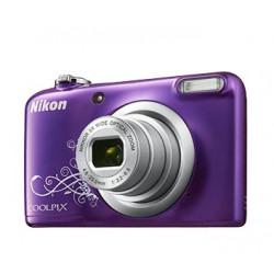 Camera Nikon CoolPix A10 (лилав арт) + Memory card Nikon SDHC 4GB CLASS 6 + Charger GP GP CHARGER+2AAX2000MAH