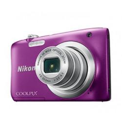 Nikon CoolPix A100 (лилав) + калъф Case Logic + карта 8 GB