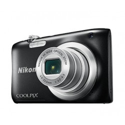 Camera Nikon CoolPix A100 (Black) + Case Logic Case + 16GB Card