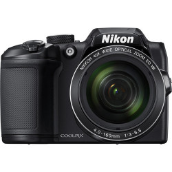 Camera Nikon CoolPix B500 (Black) + Bag Nikon Case P-08 (Black)