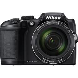 Camera Nikon CoolPix B500 (Black) + Charger Panasonic Eneloop Basic + 4 бр. AA
