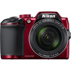 NIKON COOLPIX B500 RED+PANASONIC ENELOOP BK-3MCCE/4BE AAX4BR 1900MAH