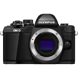 фотоапарат Olympus E-M10 II (черен) OM-D + обектив Olympus ZD Micro 45mm f/1.8 MSC (черен)