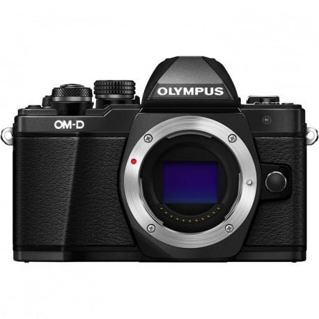 фотоапарат Olympus E-M10 II (черен) OM-D + обектив Olympus MFT 45mm f/1.8 MSC