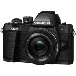 OLYMPUS OM-D E-M10 MARK II BLACK+14-42MM EZ+40-150MM F/4-5.6 ED R MSC BLACK