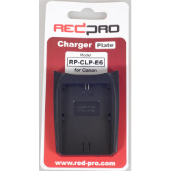 Accessory Hedbox (RedPro) RP-CLP-E6 Plate for RP-DC10, RP-DC20 Chargers