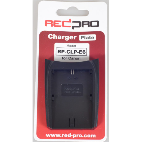 RedPro (Hedbox) RP-CLP-E6 Plate for RP-DC10, RP-DC20 Chargers