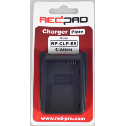 Accessory Hedbox (RedPro) RP-CLP-E8 Plate for RP-DC10, RP-DC20 Chargers