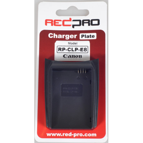 Hedbox (RedPro) RP-CLP-E8 Plate for RP-DC10, RP-DC20 Chargers