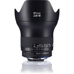 обектив Zeiss Milvus 18mm f/2.8 ZF.2 за Nikon F