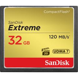 карта SanDisk CF 32 GB Extreme
