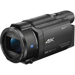 Camcorder Sony FDR-AX53 4K HandyCam + Memory card Lexar 32GB Professional UHS-I SDHC Memory Card (U3)