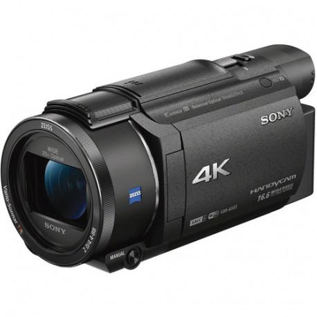 Camcorder Sony FDR-AX53 4K HandyCam + Bag Sony LCS-U11 + Memory card Sony SD 64GB UHS-1 SF64UX2 94MB / S 4K CLASS 10