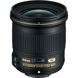 обектив Nikon AF-S 24mm f/1.8G