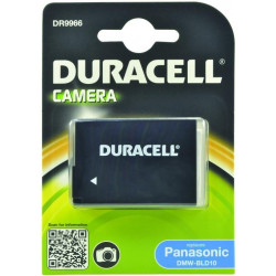 Battery Duracell DR9966 equivalent to PANASONIC DMW-BLD10