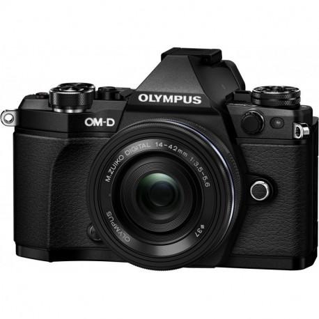 Camera Olympus OM-D E-M5 MARK II + Lens Olympus ZD Micro 14-42mm f / 3.5-5.6 EZ ED MSC (Black)