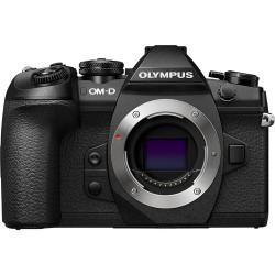 фотоапарат Olympus OM-D E-M1 Mark II + обектив Olympus ZD Micro 45mm f/1.8 MSC (черен)