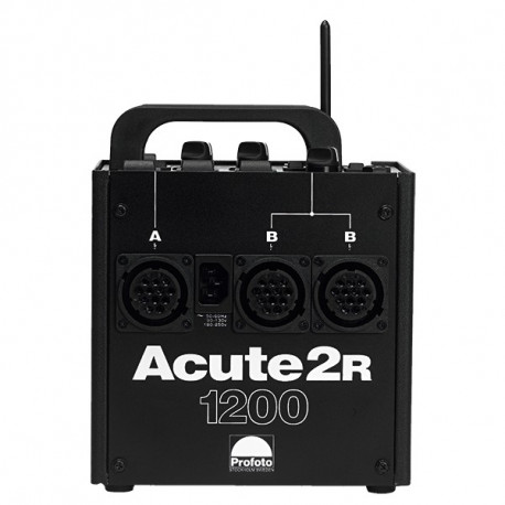 Profoto 900775 Acute 2R 1200 (344MHZ Pocket Wizard Receiver Built-in)