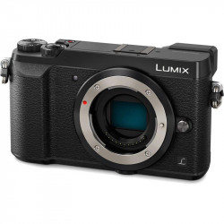 Camera Panasonic Lumix GX80 + Lens Panasonic Lumix G 12-32mm f/3.5-5.6 MEGA OIS (черен)