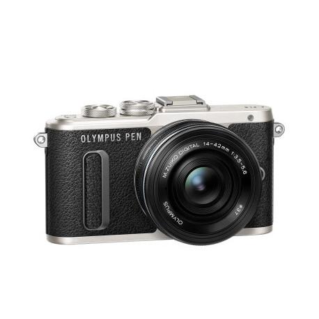Olympus PEN E-PL8 + Lens Olympus ZD Micro 14-42mm f/3.5-5.6 EZ ED MSC (черен) + Lens Olympus MFT 40-150mm f/4-5.6 R MSC silver