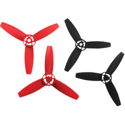 Accessory Parrot BeBop Drone propellers (red / black)